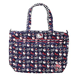 Ju-Ju-Be Super Zippered Tote Diaper Bag, Hello Kitty Out to Sea from Ju-Ju-Be