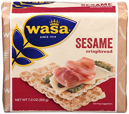 Wasa Sesame Crispbread, 7 Ounce Packages (Pack of 12) (Vasa Bread compare prices)