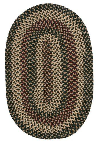 Brook Farm Polypropylene Braided Sample Swatch Rug, 14