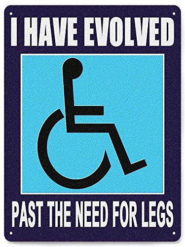 DISABLED-metal-sign-WHEELCHAIR-INSPERATIONAL-humor-funny-plaque-office-home-wall-decor-207