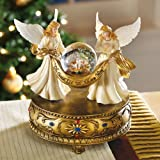 Musical Angels Christmas Holiday Snow Globe