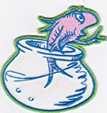 Fish iron on patches