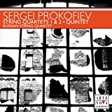 Prokofiev: Chamber Music - String Quartets Nos. 1 & 2 / Overture on Hebrew Themes, Op. 34 / Quintet in G minor, Op. 39