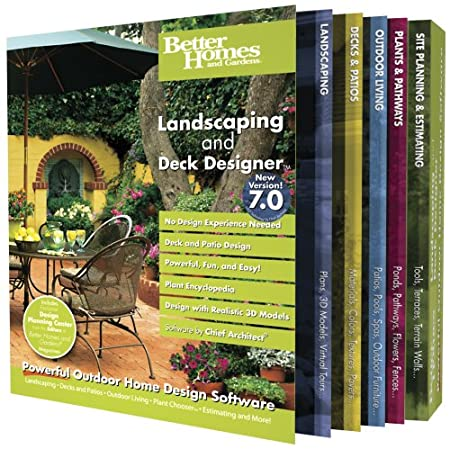Better Homes and Gardens Landscaping and Deck Designer 7.0 [OLD VERSION]
