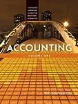 Accounting, Volume 1, Ninth Canadian...
