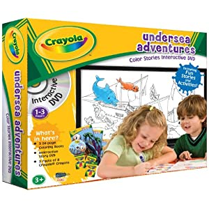 Crayola Undersea Adventures Color Stories