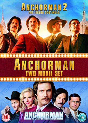 Anchorman 1 & 2 Box Set [Edizione: Regno Unito]