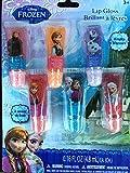 Disney Frozen Anna Elsa Olfa Kristoff Girls 6 Lip Shine/gloss-brand New Factory Sealed!!! Disney Frozen Anna Elsa Olaf Kristoff 6 .16 Oz Lip Shine/gloss Gift Set-brand New Factory Sealed!!!