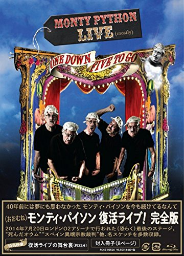 Monty Python - Monty Python Live (Mostly) One Down Five To Go (Complete Edition) [Japan BD] PCXE-50526