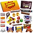 American Chocolate Sweets Gift Box - Perfect Affordable Gift For Any Occasion - Letterbox Friendly Gift Box