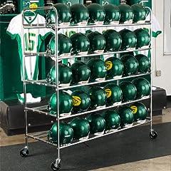 Buy Pro Down Football Helmet Cart by Pro Down