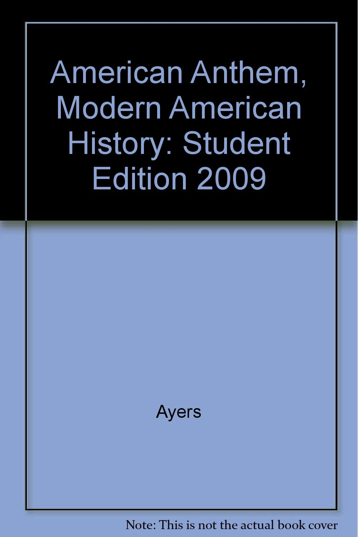 american anthem modern american history audiobook