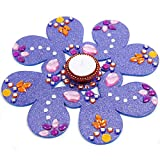 Store Indya Christmas Gifts Floating Diyas Tea Light Candle Holder Handcrafted With Studded Stones Traditional...