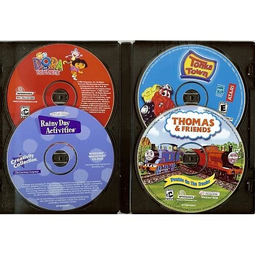 Amazon.com: Dora the Explorer, Tonka Town, Little Bear's Rainy Day