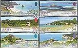 Gran Bretaña-Jersey 1590-1595 (completa.edición.) 2011 paisaje (sellos para los coleccionistas)