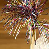 Glitter Sticks - Pack of 10 | Cocktail Sticks, Swizzle Sticks - Cocktail Accessories / Cocktail Decorations - Funky, Groovy Party Accessories