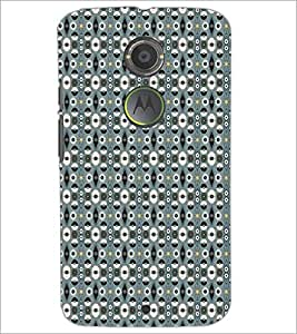 PrintDhaba Pattern D-5203 Back Case Cover for MOTOROLA MOTO X2 (Multi-Coloured)