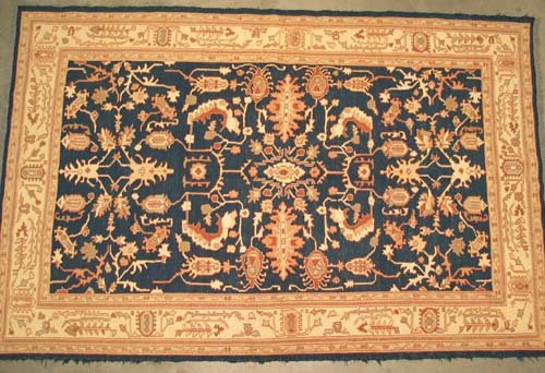 "Hand-woven Soumak Kilim Oriental Area Rug 7'8"" x 5' #102"