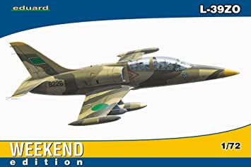 Eduard EDK7416 L-39ZO Libyan Air Force 1985 1:72 Weekend Edition Plastic Kit Maquette