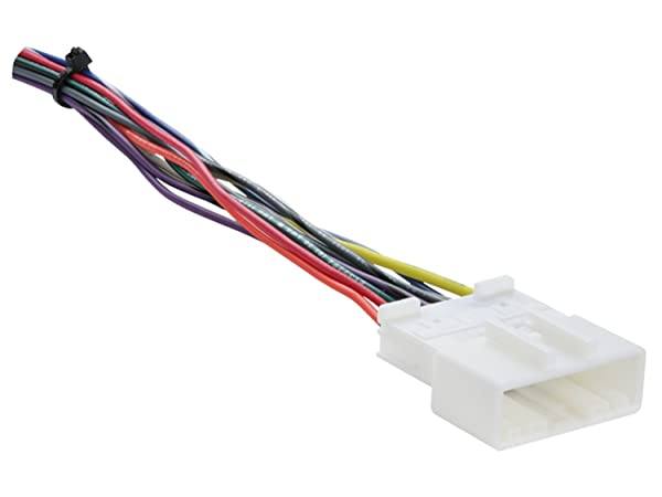 Metra 70-7552 Radio Wiring Harness For Nissan 2007-Up/Select ... on cobra wiring harness, automotive wiring harness, garmin wiring harness, yamaha wiring harness, eclipse wiring harness, bose wiring harness, car wiring harness, pyle wiring harness, apc wiring harness, scosche wiring harness, pac wiring harness, stinger wiring harness, jbl wiring harness, mitsubishi wiring harness, emerson wiring harness, rockford fosgate wiring harness, lowrance wiring harness, chevy wiring harness, midland wiring harness, tripp lite wiring harness,