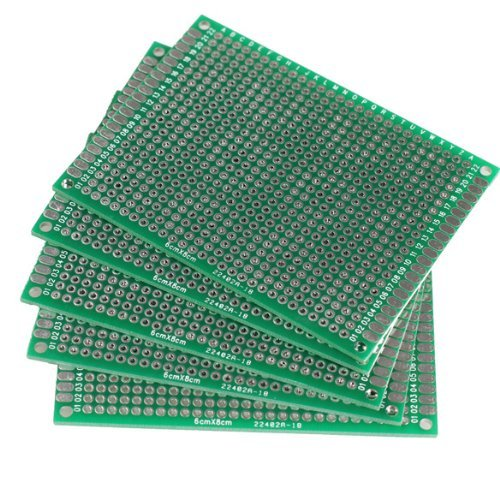 Kalevel® 5pcs FR-4 Glass Fiber Double Sided Prototype Pcb Universal Printed Circuit Board (10*16cm) (Pc Board Etching compare prices)