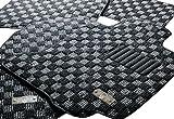 舞フロアマット MPV スパーリラックスシート専用プレミアムフロアマット グレイ・チェッカー