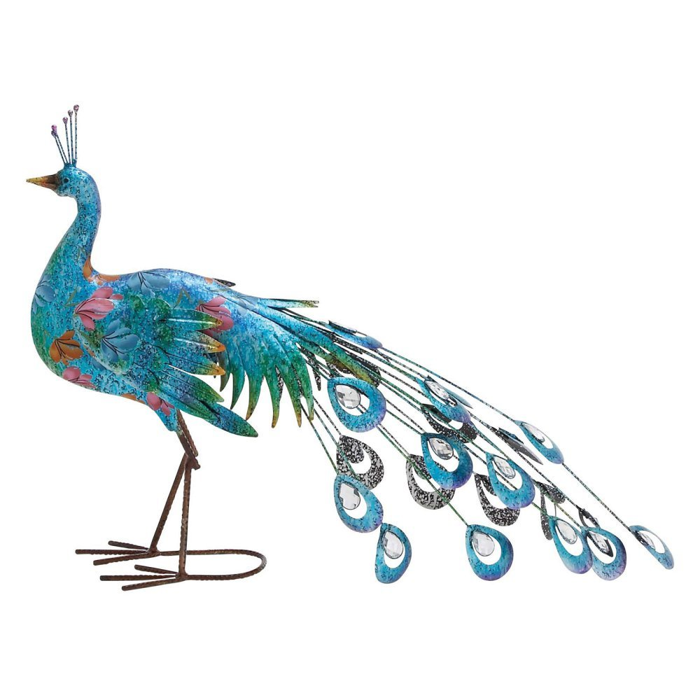 Attractive Metal Peacocks For Decoration