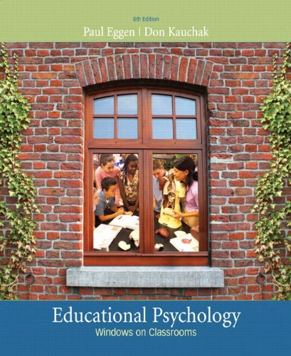 Educational Psychology: Windows on Classrooms (with...