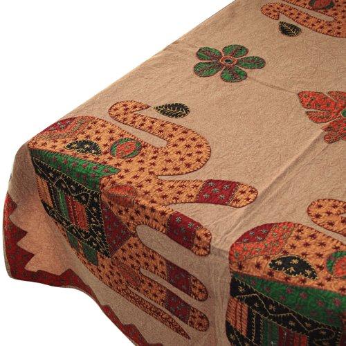 Rectangular Cotton Table Cloth Handmade Home Decor Accessory