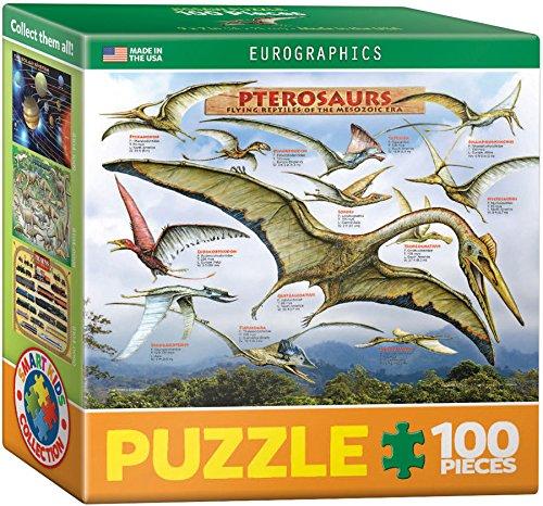 EuroGraphics Pterosaurs Mini Puzzle (100 Piece)