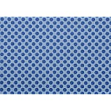 BDPP ROYAL BLUE PRINT ON BOY BLUE THICK PREMIUM WRAPPING PAPERS (PACK OF 10) WITH FREE 10 GIFT NAME TAGS WORTH...