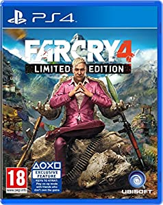 far cry 4 limited edition ps4 pc. Black Bedroom Furniture Sets. Home Design Ideas