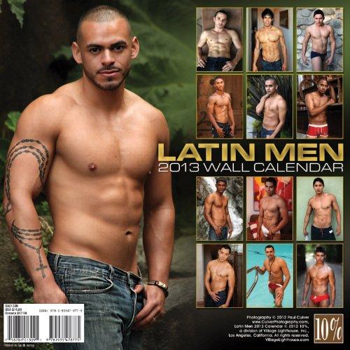 Latin Men 2013 Calendar