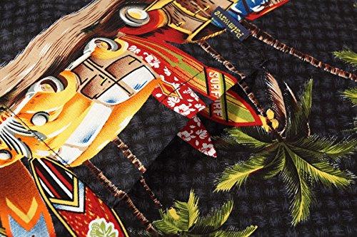 Palm Wave Men's Hawaiian Shirt Aloha Shirt 5