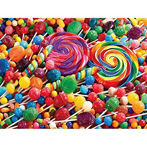 Colorluxe 500 Piece Puzzle - Candy Fun - 1