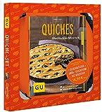 Quiche-Set: Plus 1 Kaiser-Quicheform Ø 28 cm (mit Hebeboden) (GU Buch plus)