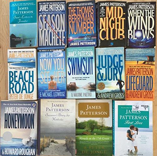 james-patterson-novel-collection-14-books