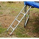 """Aosom 3-Step Heavy Duty Non-Slip Trampoline Safety Ladder, 43"""""""