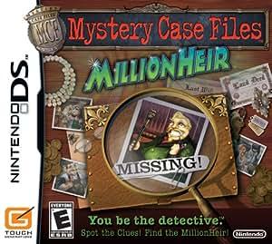 Mystery Case Files: MillionHeir - Nintendo DS