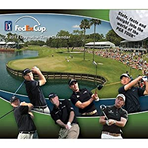 (5x6) PGA Tour Sports 2012 Daily Box Calendar