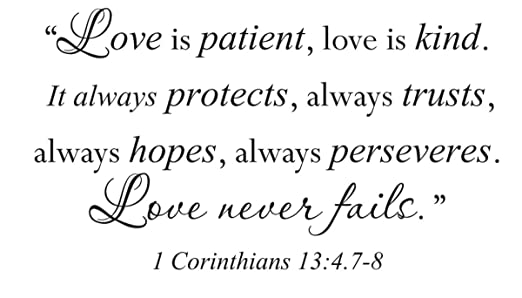Love Quotes From Bible Corinthians. QuotesGram