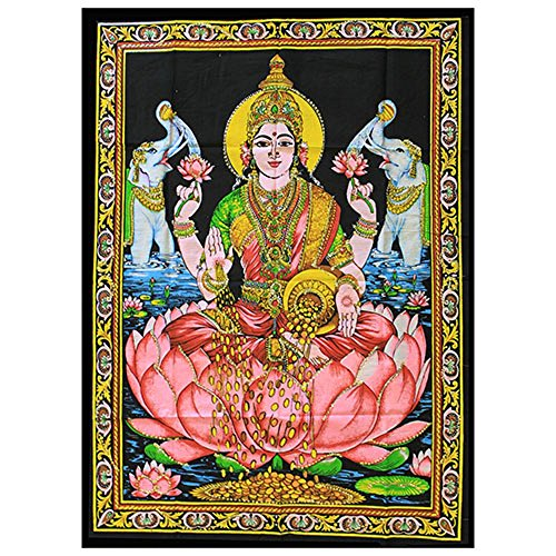 indian-wall-art-hanging-hindu-goddess-lakshmi
