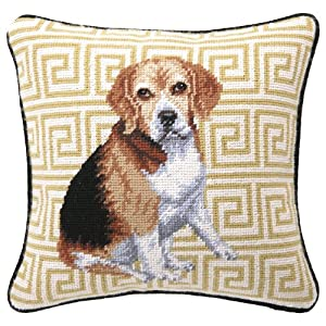 Peking Handicraft Needle Point Pillow