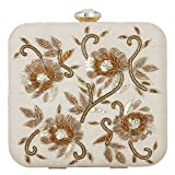 Arti J. Women's Clutch -Cream