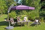6-x-Alu-Sun-Star-Comfort-Gartenstuhl-Klappsessel-in-silber-schwarz-Sun-Garden
