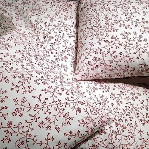 100% Cotton French Country Style Duvet Cover Set Full ...