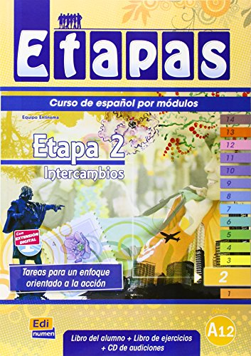 Etapa 2. Intercambios - Libro del alumno: 1 (Etapas (Edición Alemana))