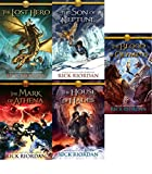 img - for Complete Heroes of Olympus 1-5 (The Lost Hero, The Son of Neptune, The Mark of Athena, The House of Hades, The Blood of Olyympus) book / textbook / text book