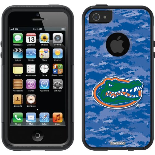 Special Sale Florida Emblem on Camo design on a Black OtterBox® Commuter Series® Case for iPhone 5s / 5