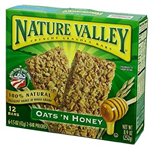 Nature Valley Oats 'n Honey Granola Bars 8.9 oz
